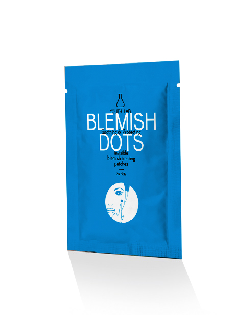 YOUTH LAB Blemish Dots Oily_Prone to Imperfections Skin Επιθέματα για Σπυράκια & Μαύρα Στίγματα 32 Patches